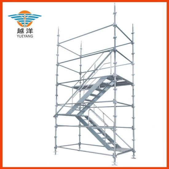 Modular Kwikstage Scaffolding System Comply with Australian Standard for Building Work