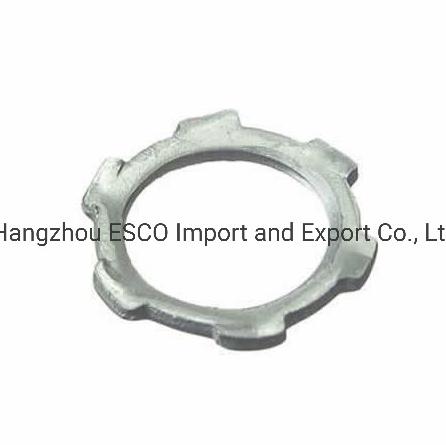 IEC Standard Steel Locknut Conduit Fitting for Rmc Pipe