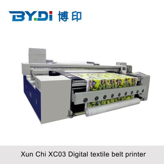 Flexo Screen Heat Press Printing Machine with Epson Print Head