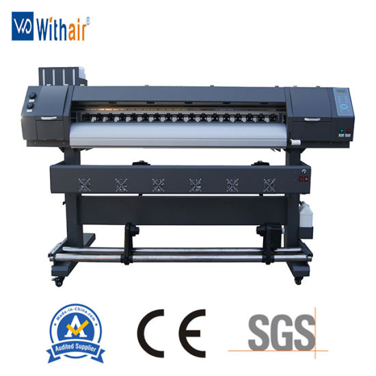 Two Dx7 Printhead Indoor Inkjet Digital Printing Machine with Wholesale Price