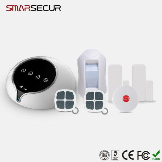 Smart 3G GSM Wireless Home Burglar Alarm System SMS Mobile APP Control
