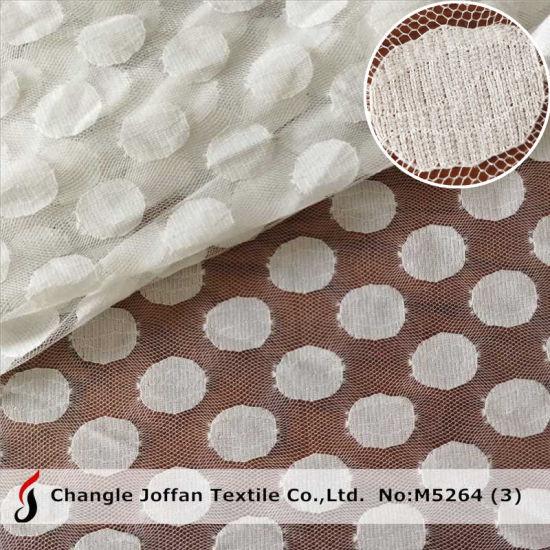 Lace Material Nylon Net Lace Fabric DOT Mesh Lace (M5264)