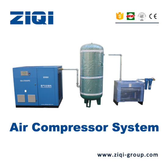 Ce ISO Gc Certification Direct Drive China Screw Air Compressor