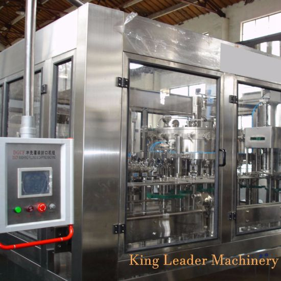5000bph Carbonated Drink Soda Water Rinsing Filling Capping Machine