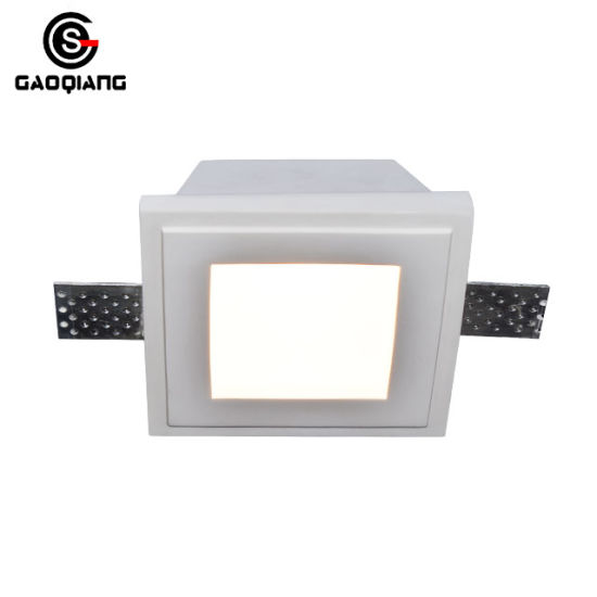 Gypsum Material LED Down Lights with Glass Gqd5024