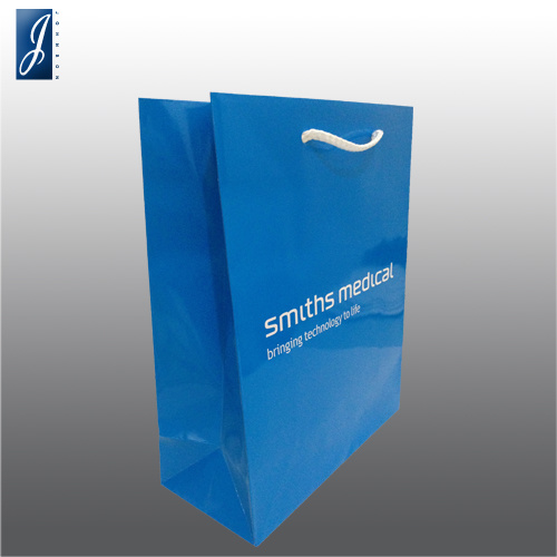 Best Price Recycle Brand Printing White Paper Bag for Shopping, High Quality pictures & photos