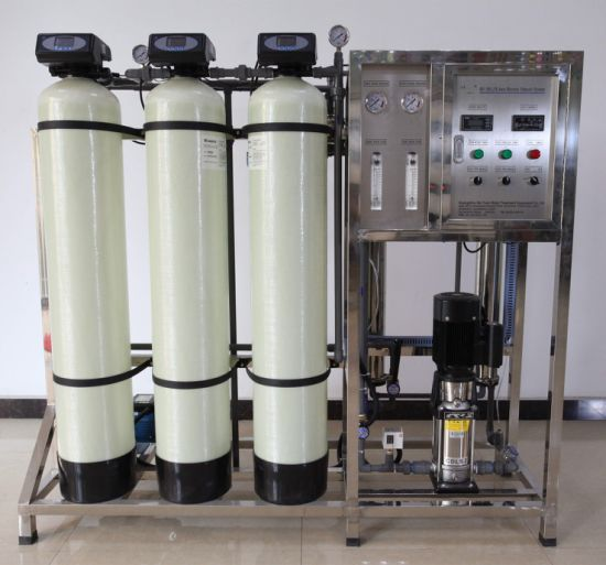 RO Filter Drinking Borehole Salty Water Purifying Treatment Equipment (500LPH)