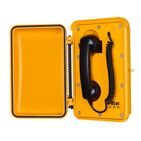 Outdoor Telephone Railway Telephone Roadside VoIP Emergency Telephone Knsp-03