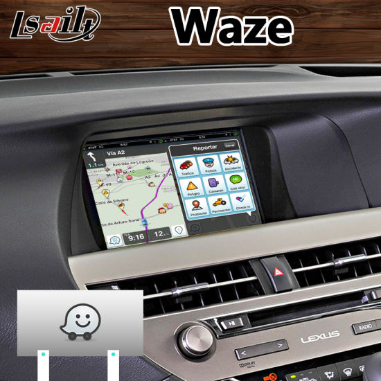 China Android 7 1 Navigation Interface System for 2012-2015 Lexus Rx