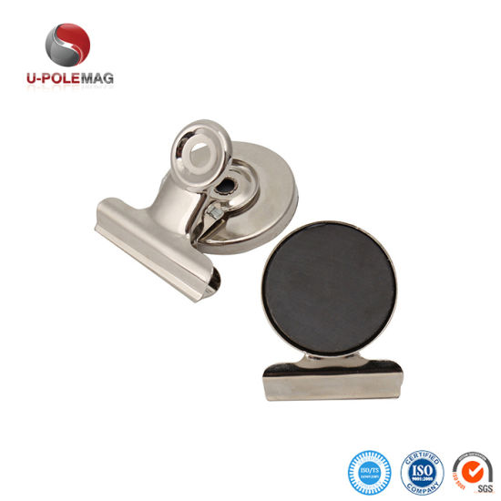 Metal Magnetic Paper Clip Holder for Office pictures & photos