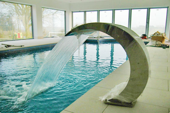 Stainless Steel Swimming Pool Fountain Water Shower Curtain