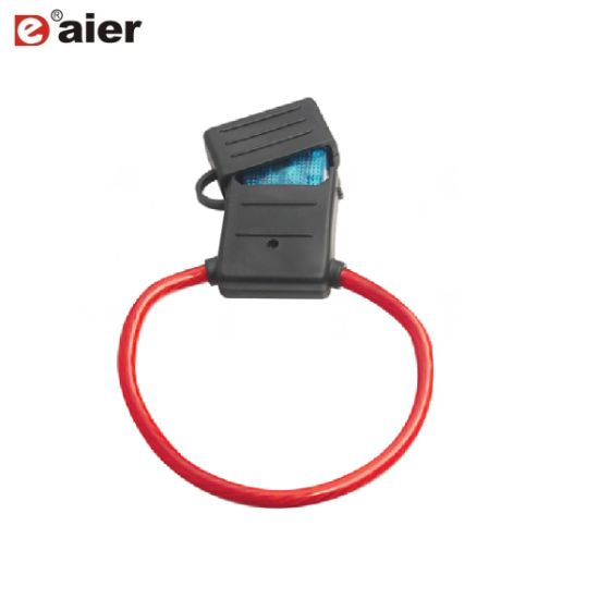 china electrical black 30a 250vac car waterproof maxi blade fuse rh chinadaier en made in china com