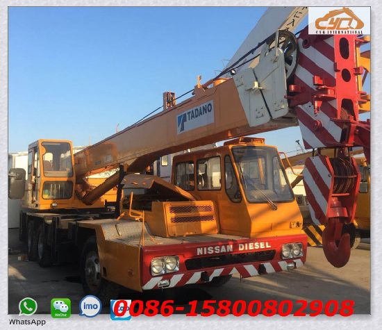 China Used Tadano 25t Mobile Truck Crane - China Cranes, All