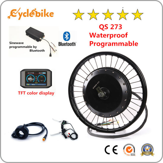 Electric Bicycle Motorcycle Engine Accessories with Bluetooth QS 273 8000W