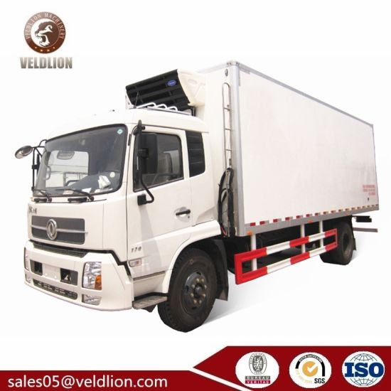 Dongfeng Brand New 4X2 10ton/10t/10 Ton/10 T Insulated Refrigerated Truck pictures & photos