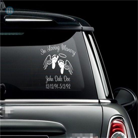 China Custom Waterproof Plotter Vinyl Sticker For Car