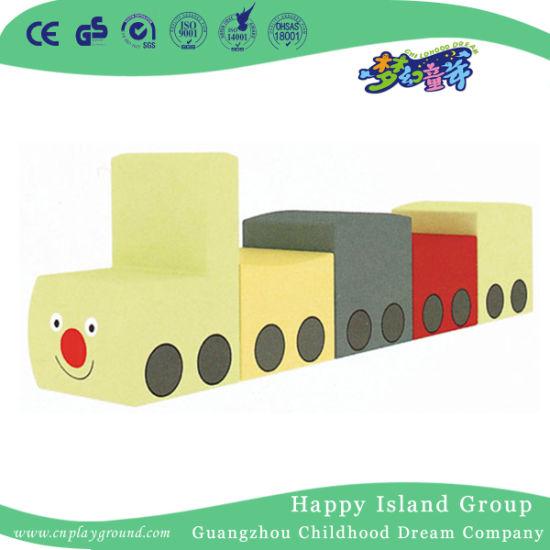 High Quality Preschool Fan Shaped Sofa Combination (HJ-8604)