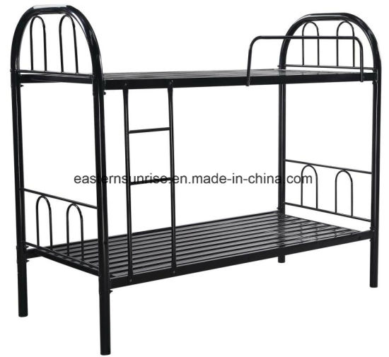 China Hot Sale Good Quality Customized Metal Two Layers Bunk Bed