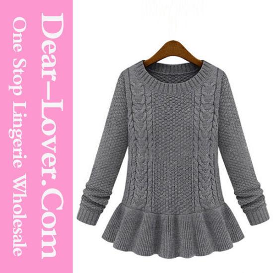China Hand Knitted Sweater Handmade Knit Wool Sweater Designs
