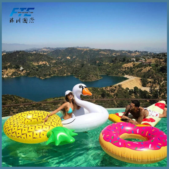 Custom High Quality Giant Inflatable Pool Float With Low MOQ