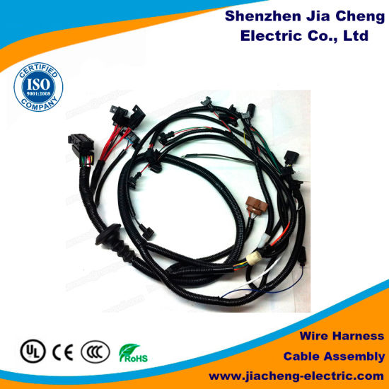 China Automotive Engine Wire Harness Cable Assembly Wire - China Electrical Wire  Harness, Wire Harness EquipmentShenzhen Jia Cheng Electric Co., Ltd.