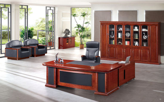 Panel Mahogany Office Executive Desk