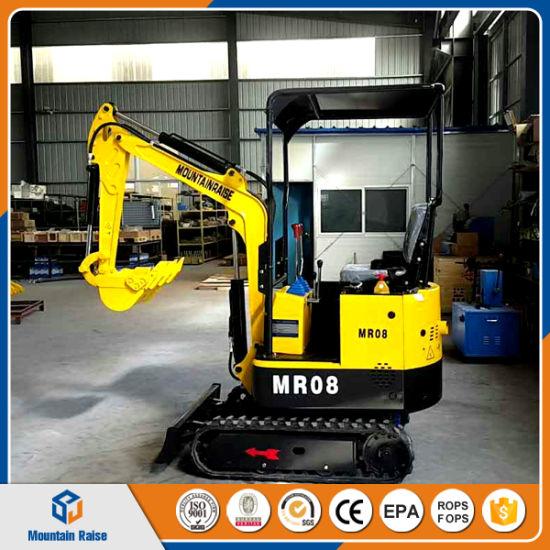 Etwas Neues genug Cheap Mini Excavator 800kg China Mini Bagger for Greenhouse &OB_55