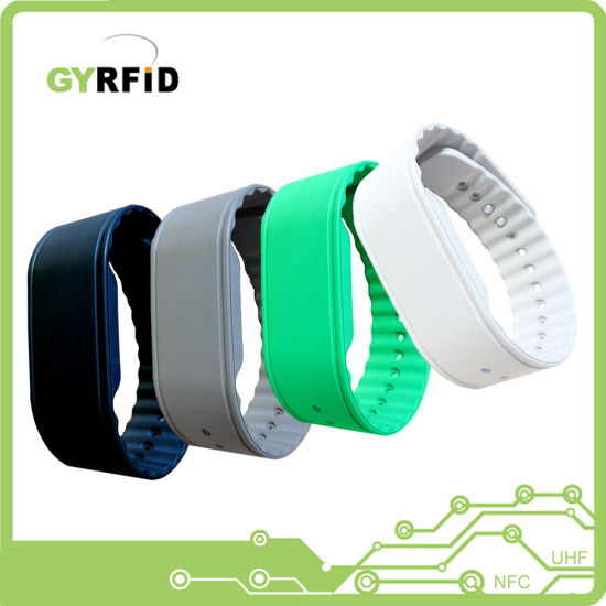 RFID Wristbands Bracelet RFID for NFC Attendance System (WRS13) pictures & photos