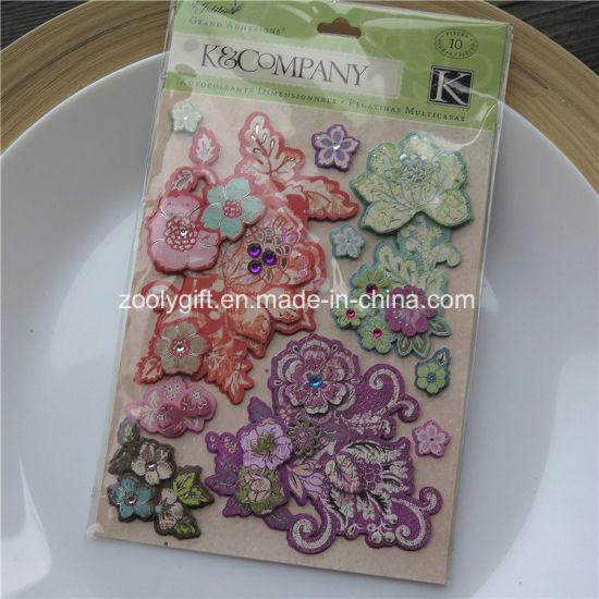 China Customize Diy Adhesive 3d Scrapbooking Handmade Paper Craft
