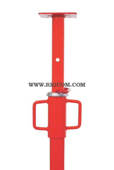 Red Painted Heavy Duty Scaffold Steel Props for Formwork