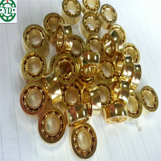 Gold-Plated U Groove Stainless Steel Yoyo Ball Bearing Mr105zz Mr105kk pictures & photos