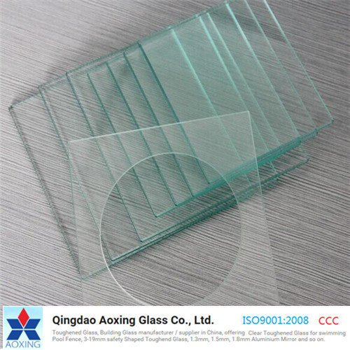 Clear Toughened/Tempered Glass for Building/Door Glass