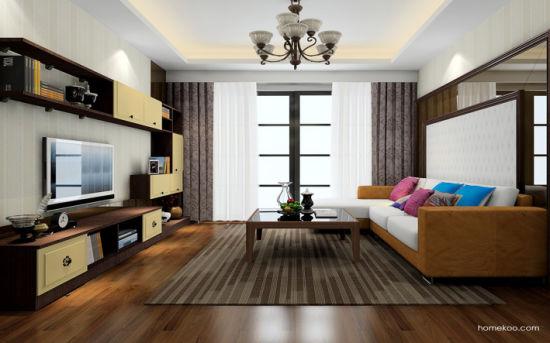 Extensible Modern Speaker TV Stand Living Room Furniture (zk-003)