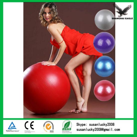 Top Quality Logo Printed Yoga Ball Wholesale