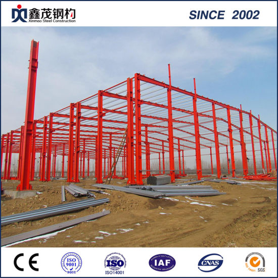 Prefabricated Steel Frame Prefab Steel Structure Construction for Warehouse/Workshop