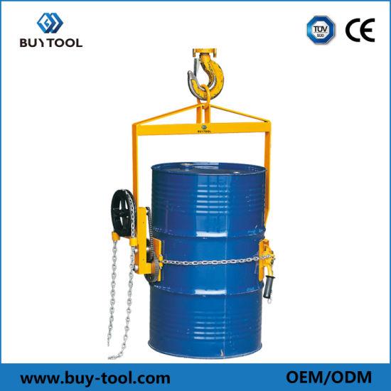 800kg Capacity Drum Lifter - Geared Type