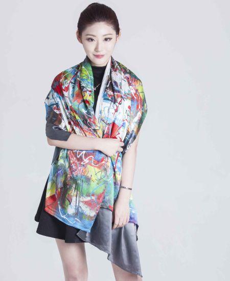 2017 Newest Style Summer Silk Scarf