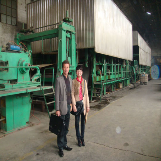 High Speed Cardboard Paper Making, Box Paper Recycling Machine