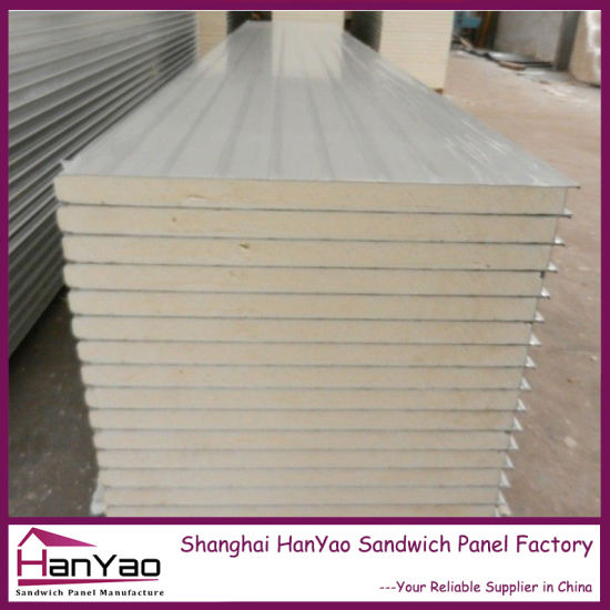 Light Weight Heat-Cold Insulation Waterproof Polyurethane Sandwich Panel PU  Panel for Cold Roon Clean Room Wall Panels
