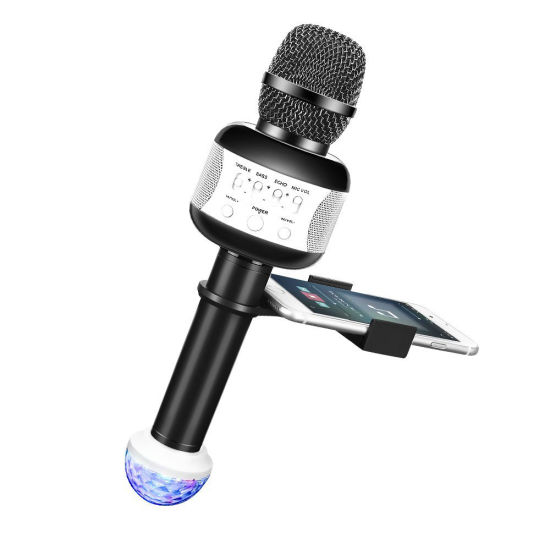 Karaoke Microphone with Flash Light for Parties