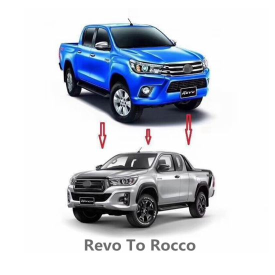 Car Body Parts >> Car Body Parts Facelift Bumper Kits For Toyota Revo 2015