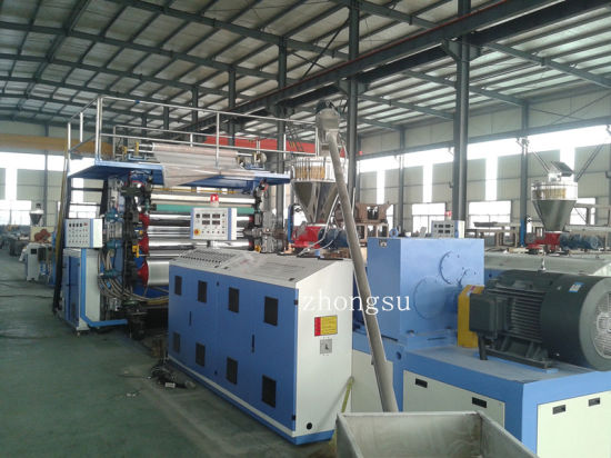 High Efficiency PVC Decorative Marble Board Making Machine pictures & photos