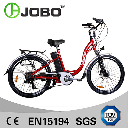 Elegant 26 Inch Aluminum Alloy & Lithium Battery Electric Bike (JB-TDF01Z) pictures & photos