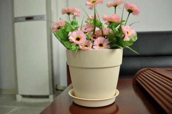Cheap Durable Decorative Round Ceramic Flower Pots (P1103, P1105, P1106)