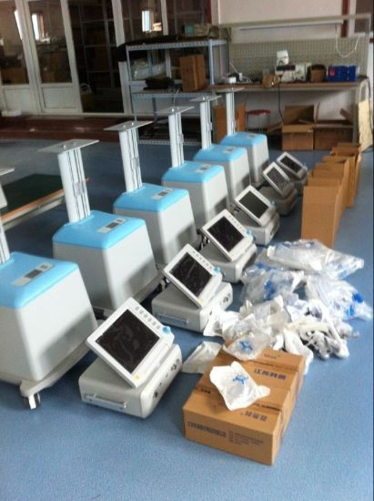 Render Hospital Medical ICU Ventilator Machine Equipment Price ICU Ventilator pictures & photos