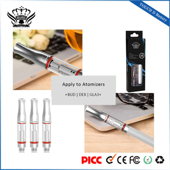 Bud 280mAh E-Cigarette Battery Vaporizer Electronic Cigarette Smoke Electronic pictures & photos
