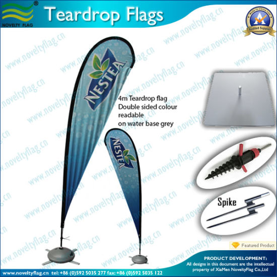 Teardrop Banner of Beach Flag (NF04F06061) pictures & photos