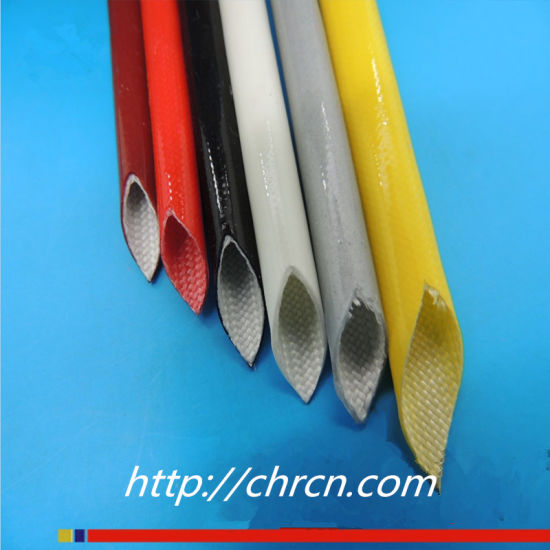 Factory Price 2751 Silicone Rubber Fiberglass Sleeving pictures & photos