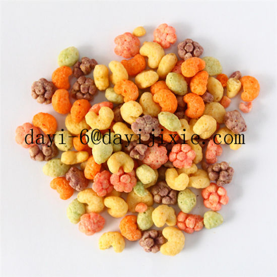 Breakfast Cereal Cornflakes Food Extruder Machine pictures & photos