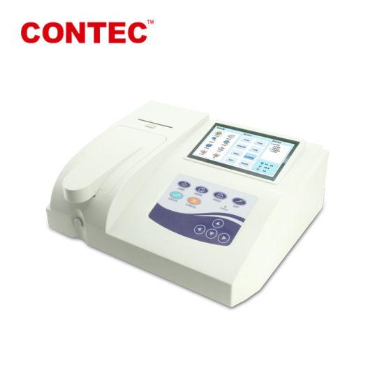 Contec Bc300 Touch Screen Cheap Automatic Portable Semi-Auto Biochemistry Analyzer with Open Reagent
